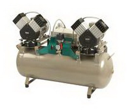 Kompresor EKOM DK50 2x2V/110 - zvìtšit obrázek