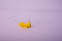 Kanyly míchací žluté 40