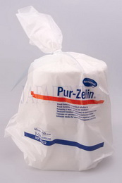 Vata bunièitá dìlená Pur-Zellin 40x50 mm 500ks