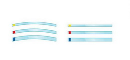 Transparentní páskové matrice