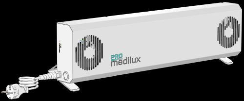 germicidní lampa ProMedilux PMX - zvìtšit obrázek