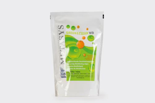 Green & Clean Metasys WD Dezinfekèní ubrousky 120ks