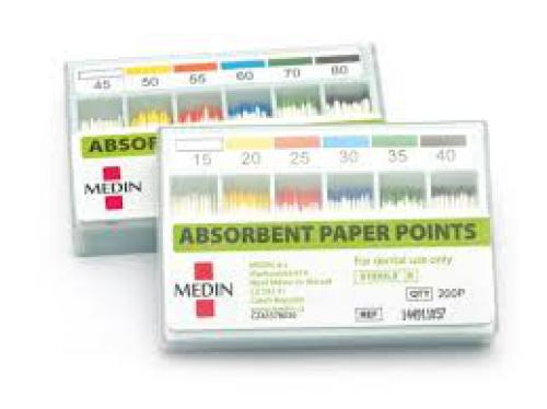 Papírové èepy MEDIN 0.6 nekalibrované