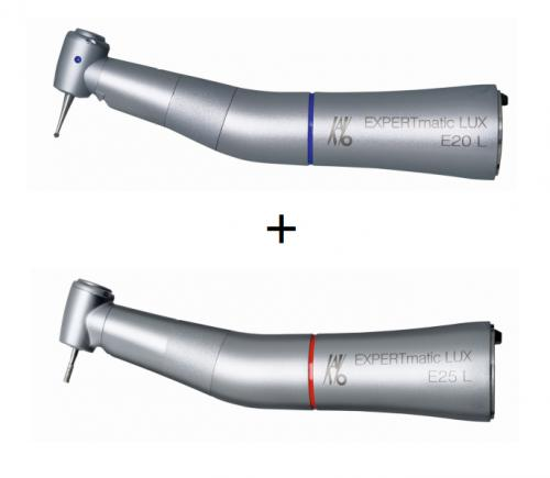 mikromotorový násadec KaVo EXPERTmatic E25 L  + mikromotorový násadec KaVo EXPERTmatic E20 L + KaVo spray