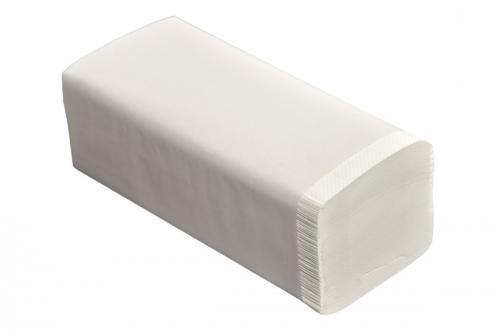 Papírové ruèníky ZZ bílé 150ks - zvìtšit obrázek